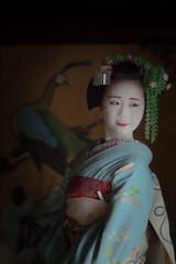 Maiko_20190630_121_28 (Maiko & Geiko) Tags: 20190630 eiunin temple kanohisa kyoto maiko 舞妓 永運院 叶久 京都 叶家 kanoya