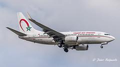 CN-RNV   Boeing 737-700 - Royal Air Maroc (Peter Beljaards) Tags: ams eham schiphol amsterdam final landing nikon70300mmf4556 nikond5500 nikon aviationphotography airplane royalairmaroc ram cnrnv boeing737700 737 boeing737 aircraft passengerjet airliner jetplane cfm567 msn28988 at
