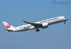 JA02XJ Airbus A320 Japan Airlines, delivery flight (@Eurospot) Tags: ja02xj airbus a320 toulouse blagnac japan airlines