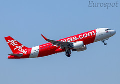 9M-RAT Airbus A320 Air Asia, delivery flight (@Eurospot) Tags: 9mrat airbus a320 9130 airasia toulouse blagnac