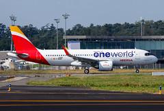 F-WWBD Airbus A320 Neo Iberia (@Eurospot) Tags: ecnfz fwwbd airbus a320 neo iberia toulouse blagnac 100002