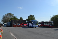 Coastal Coaches BF68ZGH & MP Travel 468 MP68BUS (Will Swain) Tags: crewe station 23rd july 2019 cheshire north west south county train trains rail railway railways transport travel uk britain vehicle vehicles england english europe transportation class acton grange blockade replacement mp 468 mp68bus coastal coaches bf68zgh