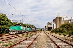27 août 2019 BB 60014-60029 Train Rosporden -> Z.I de Coat-Conq Concarneau (29) (Anthony Q) Tags: 27 août 2019 bb 6001460029 train rosporden zi de coatconq concarneau 29 bb60000 bb60014 bb60029 sncf ferroviaire fret finistère france bretagne desserte wagon