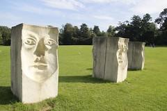 sculpture (Paul McNamara) Tags: cabinteelypark dublin ireland sculpture agnesconway grass trees