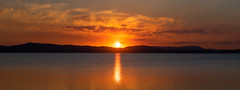 Another Wallis Lake sunset - NSW Australia (Peter.Stokes) Tags: sunset vacation holiday colour nature landscape outdoors photography coast landscapes photo australian australia nsw newsouthwales vacations 2019 colourphotography sky water reflections waterscape