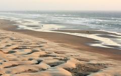 Nye Beach at a minus  tide (Lostinplace) Tags: newport oregon lowtide ocean surf waves pacific dunes beach sand people tidepool
