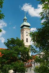 Heiliggeistkirche, Munich (nickcoates74) Tags: a6300 bavaria bayern ilce6300 munich münchen sony germany heiliggeistkirche viktualienmarkt