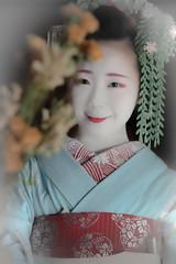 Maiko_20190630_121_3 (Maiko & Geiko) Tags: 20190630 eiunin temple kanohisa kyoto maiko 舞妓 永運院 叶久 京都 叶家 kanoya