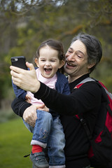 silly selfie (louisa_catlover) Tags: heronswood garden nature diggersclub dromana morningtonpeninsula melbourne victoria australia august winter outdoor portrait child daughter toddler tabby tabitha family husband karl