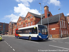 SN63YPV 27925 Stagecoach Merseyside and South Lancashire in Chester (Nuneaton777 Bus Photos) Tags: stagecoach merseysideandsouthlancashire adl enviro 300 sn63ypv 27925 chester