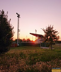 Sunset over Tazio Nuvolari (Filippo Rimondini - HIGHERBITRATE) Tags: