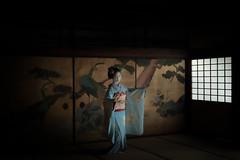 Maiko_20190630_121_24 (Maiko & Geiko) Tags: 20190630 eiunin temple kanohisa kyoto maiko 舞妓 永運院 叶久 京都 叶家 kanoya