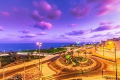 Sunrise at Netanya (Ala Khayo Makari) Tags: netanya ramadahotelandsuitesnetanya ramada sunrise waterfront seaview mediterraneansea mediterranean