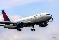 767 N177DZ aterrizando en Amsterdam (Dawlad Ast) Tags: aeropuerto internacional amsterdam schiphol holanda paises bajos aviation aterrizaje avion plane airplane aircraft ams international airport 2019 boeing 767332er delta air lines n177dz sn 29698 b767 767300 767 landing
