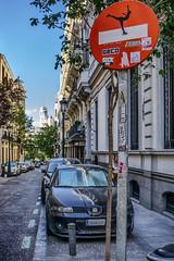... Madrid ... (Lanpernas .) Tags: madrid street art arte señales señalética intervención arteenlacalle barriodelasletras 2019 hdr
