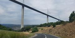 Millau Viaduct near Peyre (Meino NL) Tags: viaducdemillau viaductvanmillau france frankrijk zuidfrankrijk millau millauviaduct d41 bridge brug tuibrug aveyron
