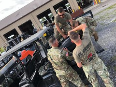Florida National Guard (The National Guard) Tags: florida fl flng chemical biological radiological nuclear explosive cbrne enhanced response force package cerfp ng nationalguard national guard guardsman guardsmen soldier soldiers airmen airman us army air united states america usa military troops 2019 hurricane dorian prepare preparations readiness missions weather storm equipment