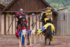 Joute équestre (Emm@63) Tags: châteaudemurol medieval moyen age cheval joute equestre tournois