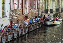 Waiting for a Tour ( Canal Boat Tour Station) Bruges (Olympus OM-D EM1.2 & M.Zuiko 45mm f1.8 Prime) (1 of 1) (markdbaynham) Tags: bruges brugge bruggen brugse people city cityscape flemishcity flemish westflanders flanders car drink beer belgiumbeer portrait 45mm mzd zd mz mzuiko zuikolic prime primelens olympusmft olympusomd omd omdm43 omdem1 olympusprimelens architecture mft mirrorless microfourthird microfourthirds mirrorlesscamera evil m43 m43rd micro43 micro43rd em1 em1ii em1mk2 em1mark2 em12 citylife belgiumcity belgium metropolis medievalcity urban urbanlife europeancity church churchourlady canal