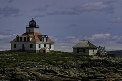 Egg Rock Lighthouse Maine (wfgphoto) Tags: lighthouse eggrock wildliferefuge sky rocks birds