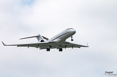 Global 6000 N152QS (Dawlad Ast) Tags: aeropuerto internacional amsterdam schiphol holanda paises bajos aviation aterrizaje avion plane airplane aircraft ams international airport 2019 bombardier global 6000 n152qs netjets sn 9773 g6000