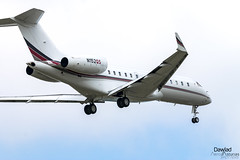 Global 6000 N152QS NetJets (Dawlad Ast) Tags: aeropuerto internacional amsterdam schiphol holanda paises bajos aviation aterrizaje avion plane airplane aircraft ams international airport 2019 bombardier global 6000 n152qs netjets sn 9773 g6000 landing