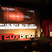 Tedx Bradford - Kamran, Imran, on stage, introduction, Wideshot