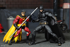 Dynamic Duo (Pipe_Toys) Tags: batman pipetoys actionfigures justiceleague