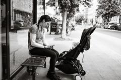 Communicating (Poul-Werner) Tags: bwtrix berlin blackandwhitephotos germany prenzlauerberg xpro2 xf23mm documentary reportage street travel urban