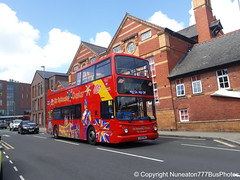 LX51FNE 17502 Stagecoach Merseyside and South Lancashire CitySightSeeing Chester in Chester (Nuneaton777 Bus Photos) Tags: stagecoach merseysideandsouthlancashire citysightseeing alx400 lx51fne 17502 chester