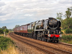 35018 1Z27 Towthorpe 29-08-19 (Robin Patrick's Trains) Tags: merchant navy class british india line 35018 the scarborough spa express towthorpe