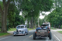 Coming and Going (novice09) Tags: backtothefifties carshow stpaul streetrod hotrod