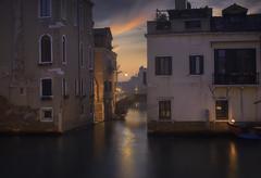 Venetian paths 172(Rio di Santa Caterina) (Maurizio Fecchio) Tags: venice venezia italia italy city cityscape morning sunrise water haidafilters haidafiltersitalia longexposure lights sky