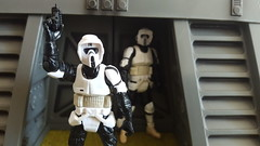Scout Trooper (Cinematic Star Wars Toys) Tags: hasbr tbs endor bunker scout trooper empire galactic figures diorama wars star