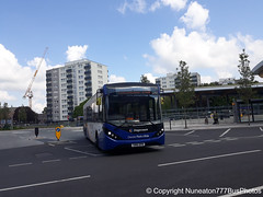 SN16OPM 26057 Stagecoach Merseyside and South Lancashire in Chester (Nuneaton777 Bus Photos) Tags: stagecoach merseysideandsouthlancashire adl enviro 200mmc sn16opm 26057 chester