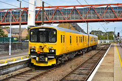 950001 - Cambridge - 30/08/19. (TRphotography04) Tags: network rail class 150 dmu track recording unit 950001 arrives cambridge with 2q08 0933 norwich tc march down rs