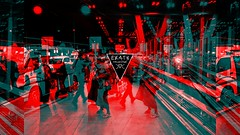 obscuRED people (EK4T3 COLLECTIVE) Tags: ek4t3 hypnosiswave materiaobscura obscured triangle magic ritual digital manipulation black red dark horror nightmare distort occult obscure night collaboration art artwork darkart airport people