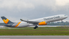 Thomas Cook A330 OY-VKG ENGM OSL Departure (Einar M.J.) Tags: fly planes avgeek airbus a330 engm osl thomascook