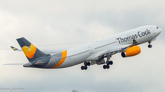 Thomas Cook A330 OY-VKG Departure ENGM OSL Departure (Einar M.J.) Tags: planes engm osl oslo airbus a330 fly avgeek
