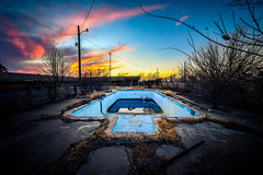 Ghost Pool (crowt59) Tags: route 66 ok oklahoma sunset ghost pool crowt59 nikon d850 sigma 1224mm a ultra wide abandoned motel nikonflickraward