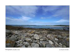 Plougoulm - la Bretagne (Bruno-photos2013) Tags: france bretagne finistère mer paysagemaritime paysage landscape rochers galets sea eau