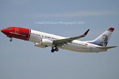 """Johan Falkberget"" Norwegian Air Shuttle LN-NGK Boeing 737-8JP Winglets cn/39022-4528 Tfd EI-GBF Norwegian Air International 27 Avril 2017 @ Orly Airport LFPO / ORY 17-05-2015 (Nabil Molinari Photography) Tags: air norwegian international shuttle boeing 27 avril tfd winglets johanfalkberget 7378jp lnngk cn390224528 eigbf airport orly ory 2017 lfpo 17052015"