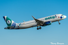 [ORY] Evelop Airlines Airbus A320-200 _ EC-LZD (thibou1) Tags: thierrybourgain ory lfpo orly spotting aircraft airplane nikon d810 tamron sigma evelopairlines airbus airbusa320 a320 a320200 eclzd madrid takeoff