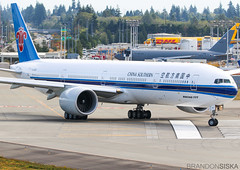 B-20C5 China Southern Airlines Boeing 777-300ER@PAE 29Aug19 (Spotter Brandon) Tags: b20c5 chinasouthern chinasouthernairlines boeing 777 777300er 777300 testflight kpae pae painefield everett