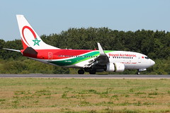 RAM 737-7B6 CN-RNL Nantes Atlantique (sebastien777) Tags: ram royalairmaroc 7378b6 cnrnl boeing737 avions aviones airplanes planes airlines airways aircrafts nantesatlantique aviation spotters