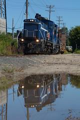 PGR 36- Lean (Khang Lu) Tags: pgr progressive rail richfield emd sw1500 36 train locomotive railroad reflection mn minnesota