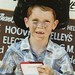 Taylor Jones with his Crumrine buckle at the Labor Day rodeo in Okeechobee.
