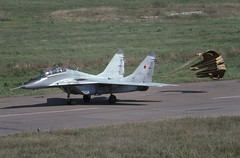 MiG-29UB Zhukovsky (Rob Schleiffert) Tags: mig mig29 fulcrum russianairforce gromovflightresearchinstitute lii