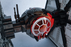 First Order TIE Fighter MOD (Edge of Bricks) Tags: lego star wars first order tie 75101 ie