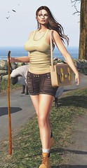 Hiking with the sheep (sibyl gothly666) Tags: justice nyne doux vale koer